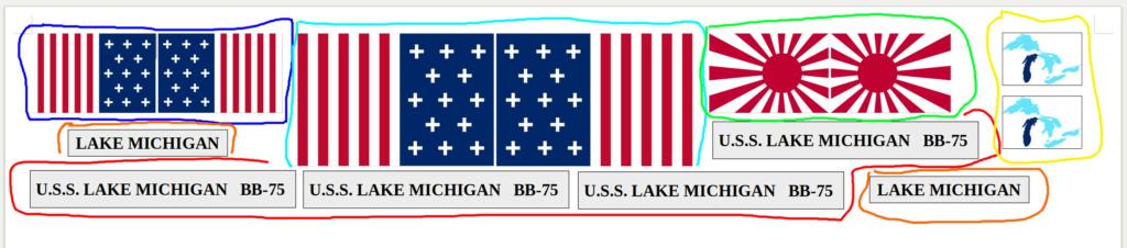 [Uchronie] USS Lake Michigan (base Iowa Trumpeter 1/200°) par hibikitokay - Page 11 Captur10