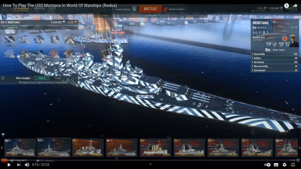 [Uchronie] USS Lake Michigan (base Iowa Trumpeter 1/200°) par hibikitokay Captur18