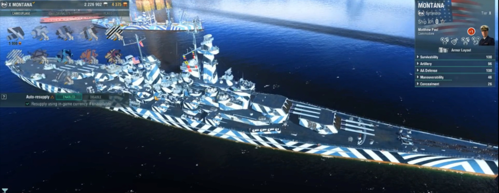 [Uchronie] USS Lake Michigan (base Iowa Trumpeter 1/200°) par hibikitokay - Page 6 Captur20