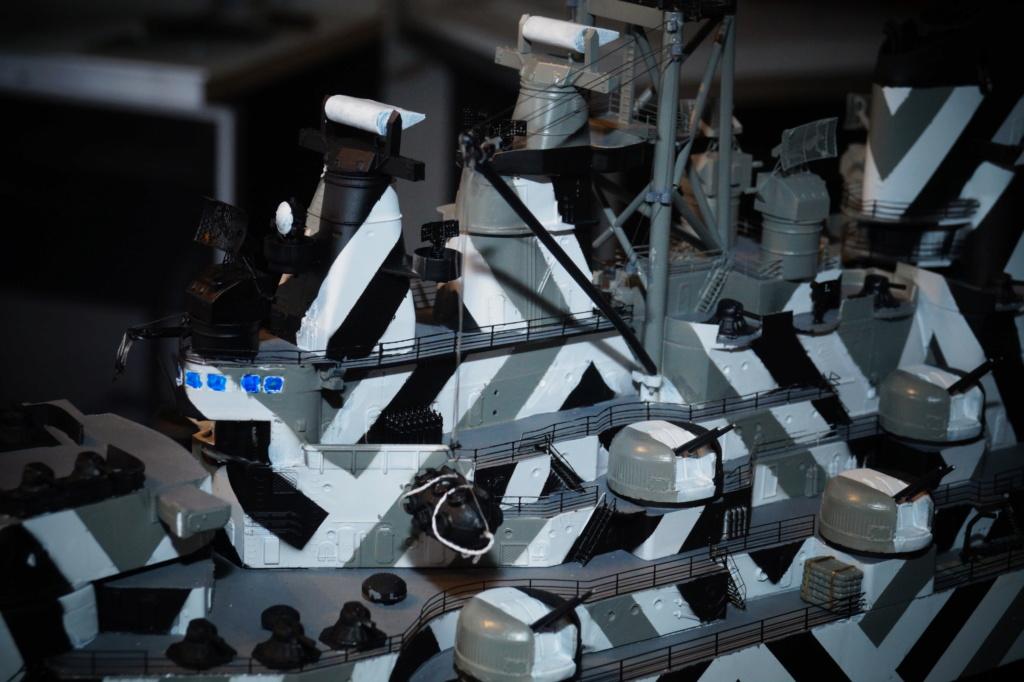 [Uchronie] USS Lake Michigan (base Iowa Trumpeter 1/200°) par hibikitokay - Page 10 Dsc00025