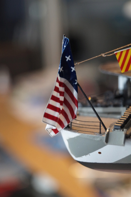 [Uchronie] USS Lake Michigan (base Iowa Trumpeter 1/200°) par hibikitokay - Page 11 Dsc00129