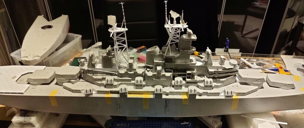 [Uchronie] USS Lake Michigan (base Iowa Trumpeter 1/200°) par hibikitokay - Page 4 Img_2024