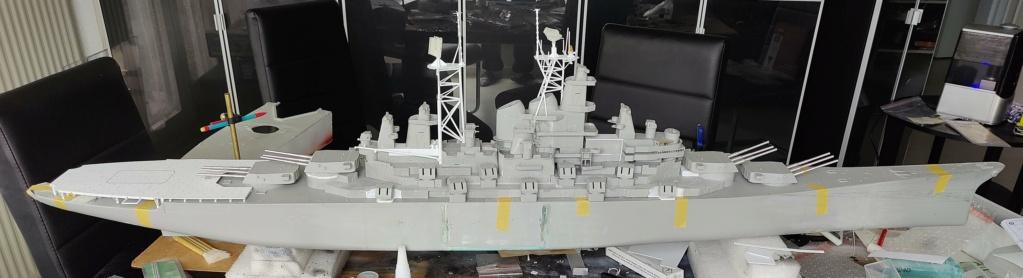 [Uchronie] USS Lake Michigan (base Iowa Trumpeter 1/200°) par hibikitokay - Page 4 Img_2026
