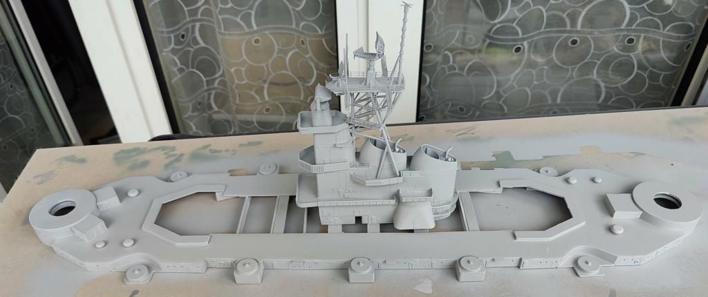 [Uchronie] USS Lake Michigan (base Iowa Trumpeter 1/200°) par hibikitokay - Page 6 Img_2079