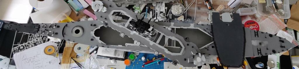 [Uchronie] USS Lake Michigan (base Iowa Trumpeter 1/200°) par hibikitokay - Page 6 Img_2086