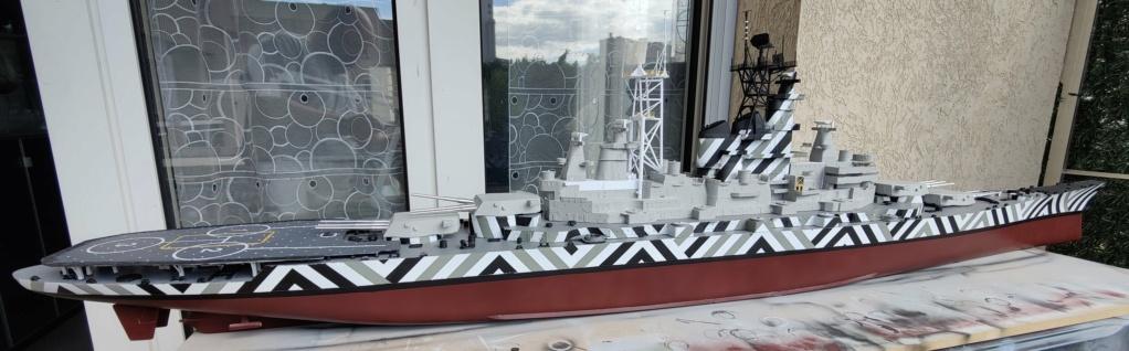 [Uchronie] USS Lake Michigan (base Iowa Trumpeter 1/200°) par hibikitokay - Page 7 Img_2098