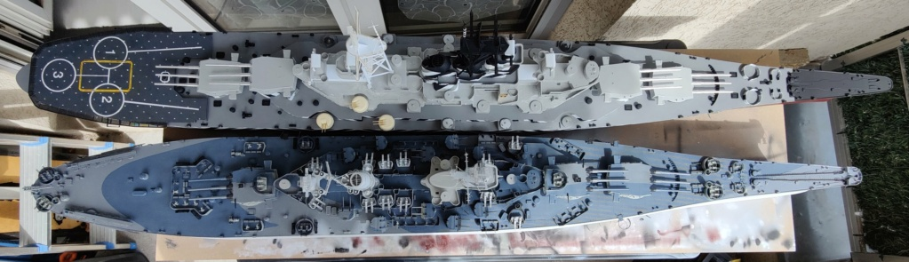 [Uchronie] USS Lake Michigan (base Iowa Trumpeter 1/200°) par hibikitokay - Page 7 Img_2103