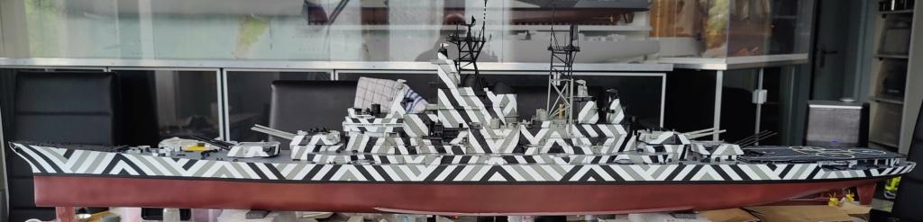[Uchronie] USS Lake Michigan (base Iowa Trumpeter 1/200°) par hibikitokay - Page 7 Img_2110