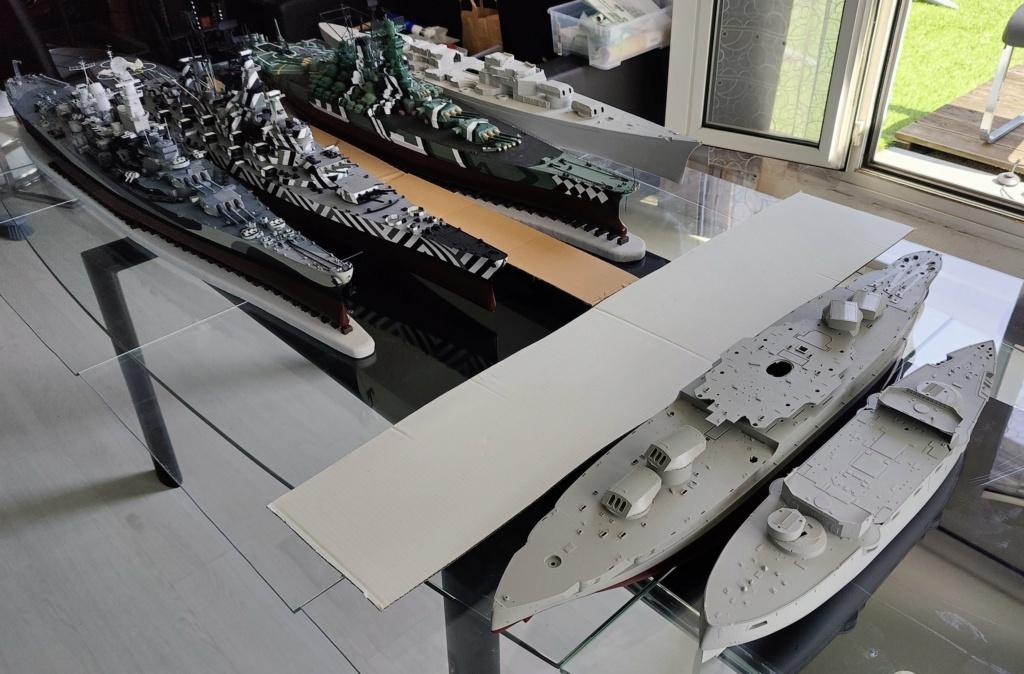 [Uchronie] USS Lake Michigan (base Iowa Trumpeter 1/200°) par hibikitokay - Page 7 Img_2128