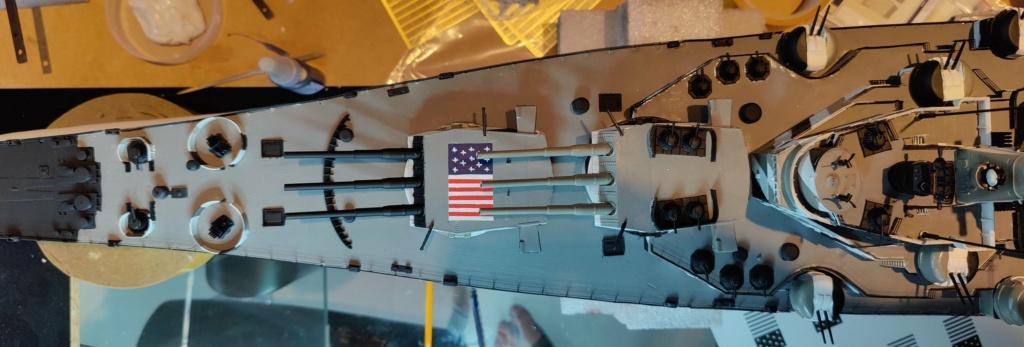[Uchronie] USS Lake Michigan (base Iowa Trumpeter 1/200°) par hibikitokay - Page 8 Img_2148