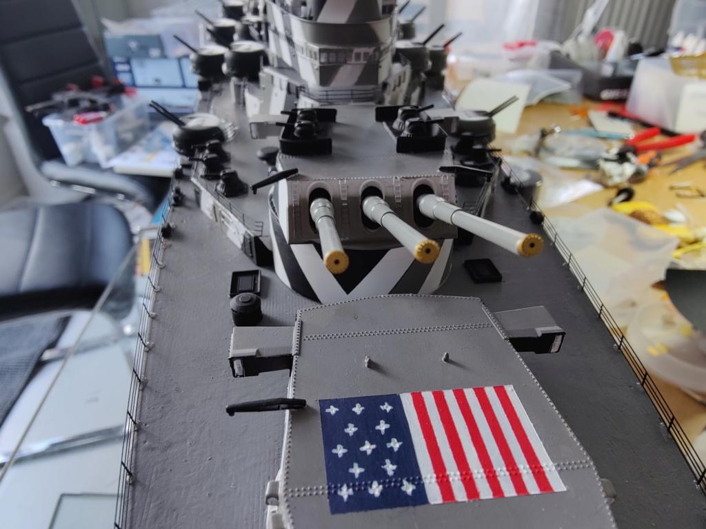 [Uchronie] USS Lake Michigan (base Iowa Trumpeter 1/200°) par hibikitokay - Page 8 Img_2160