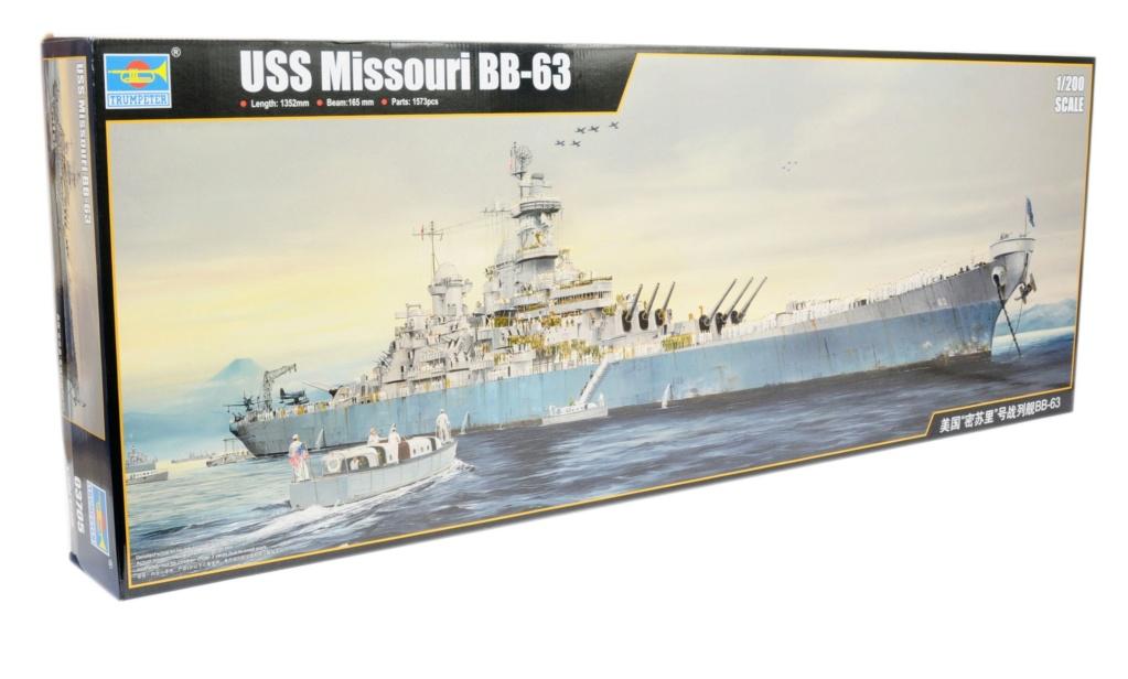 USS Missouri 1/200 de chez trumpeter Modeli10