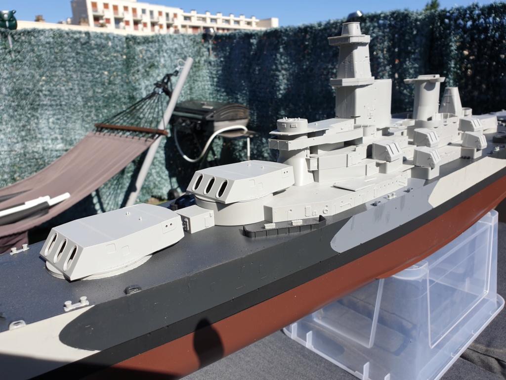USS Missouri 1/200 de chez trumpeter Modeli18