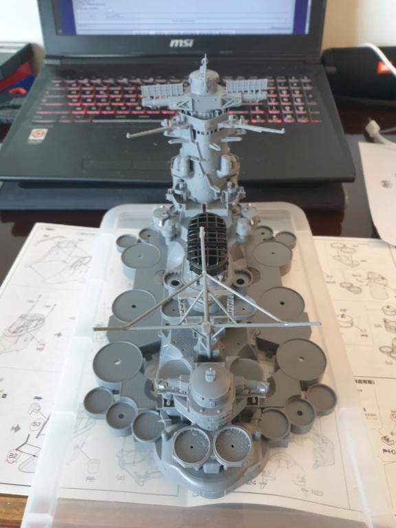 [Uchronie] IJN Yamato 1955 (Nichimo, Fujimi et scratch 1/200°) par habikitokay - Page 2 Modeli34