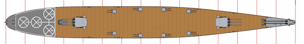 [Uchronie] USS Lake Michigan (base Iowa Trumpeter 1/200°) par hibikitokay Uss_la14