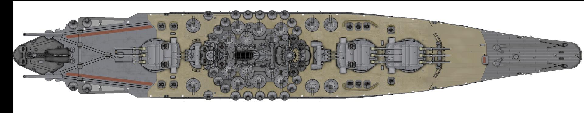 [Uchronie] IJN Yamato 1955 (Nichimo, Fujimi et scratch 1/200°) par habikitokay - Page 2 Yamato17