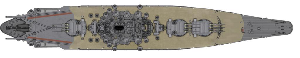 [Uchronie] IJN Yamato 1955 (Nichimo, Fujimi et scratch 1/200°) par habikitokay - Page 3 Yamato20