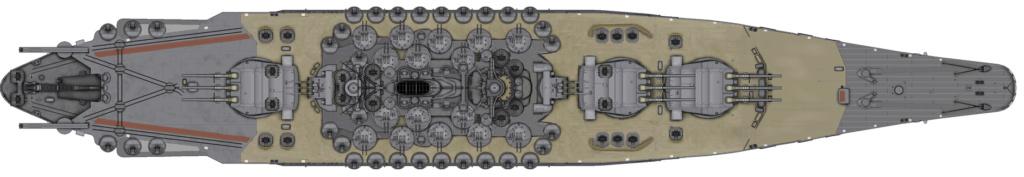 [Uchronie] IJN Yamato 1955 (Nichimo, Fujimi et scratch 1/200°) par habikitokay - Page 3 Yamato22