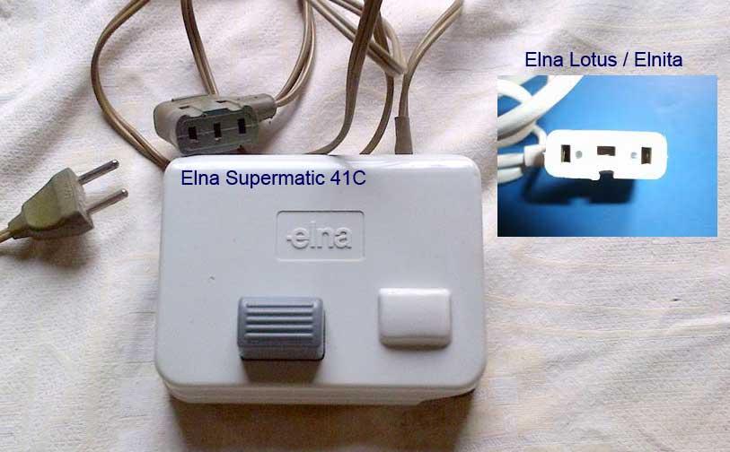 Elna Elnita SP Connec10