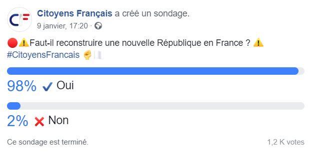Faut-il reconstruire une nouvelle République en France ? Facebo13