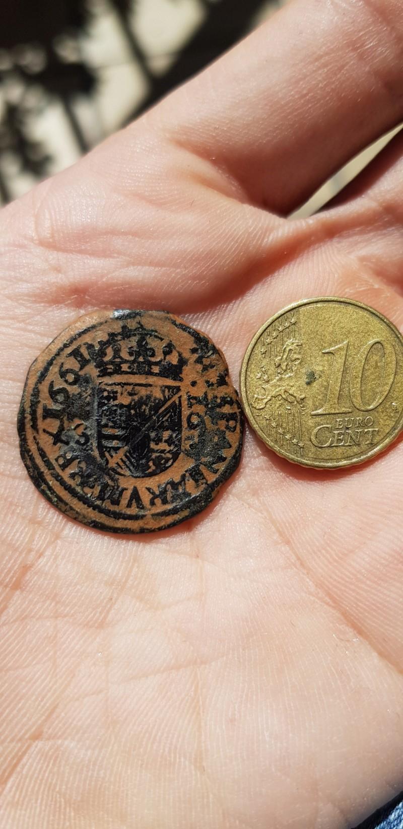 16 marevedis Felipe IV 1661 20190320