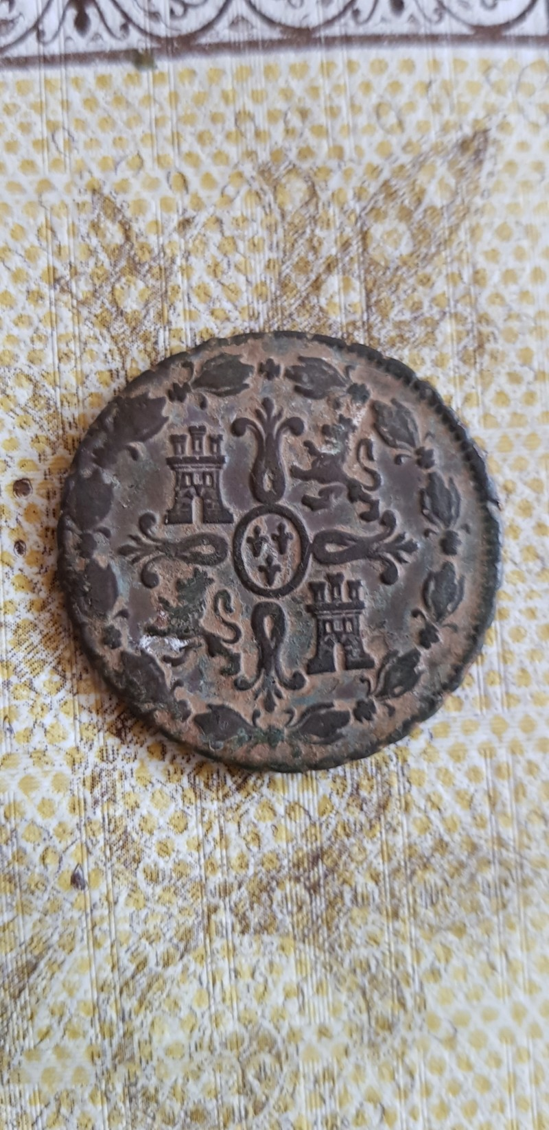 8 maravedís Carlos III (1780 Segovia) 20190514