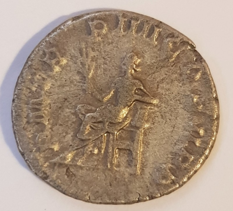 Antoniniano de Gordiano III. P M TR P IIII COS II PP. Apolo sedente a izq. Roma 20191110