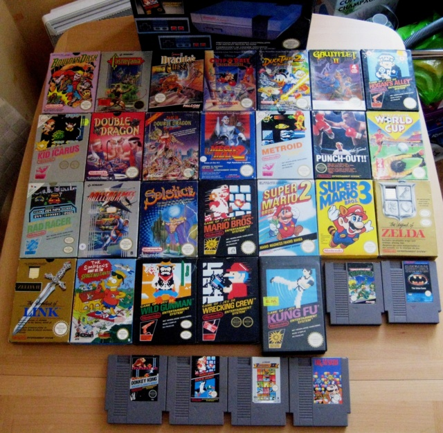 Collection NES ; Complet ou en loose ? Divers10