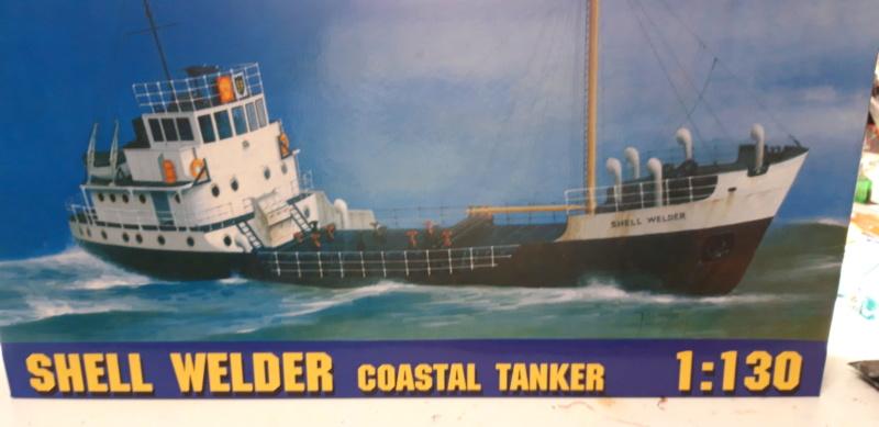SHELL WELDER Coastal Tanker 1:130 de Gomix 00114