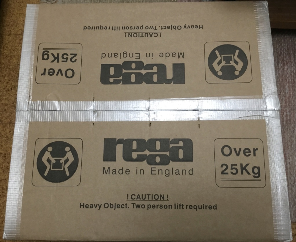 Rega Aura Reference mc Phono Stage - Unboxing C1ccd010