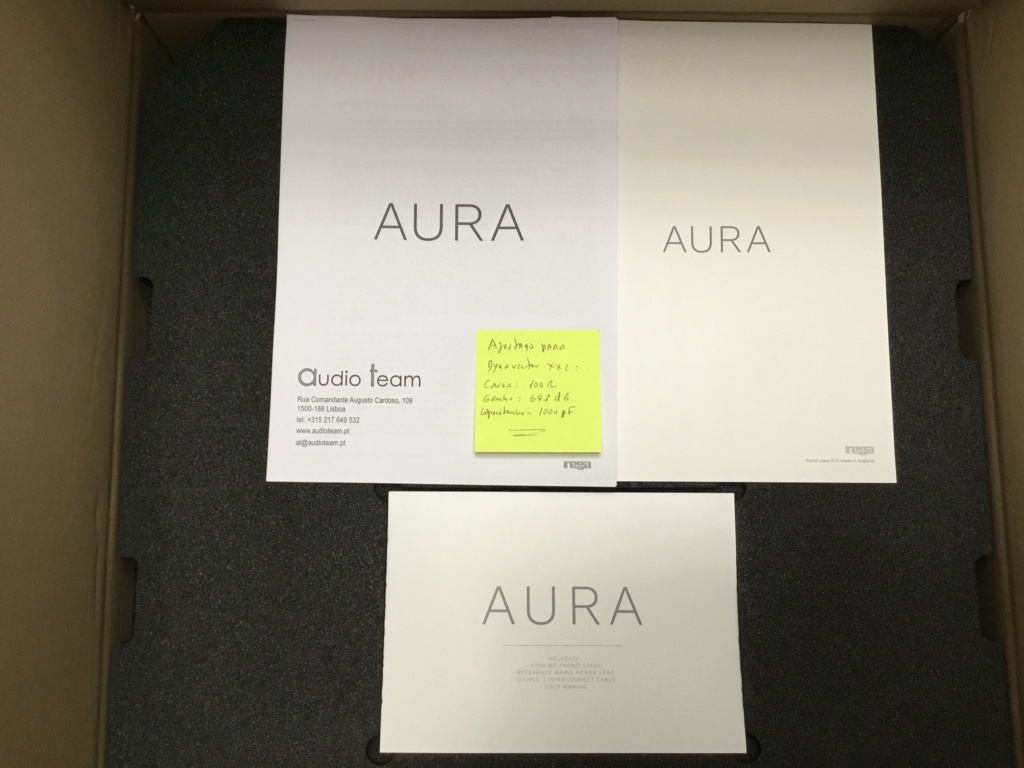 Rega Aura Reference mc Phono Stage - Unboxing Fd9c8b10