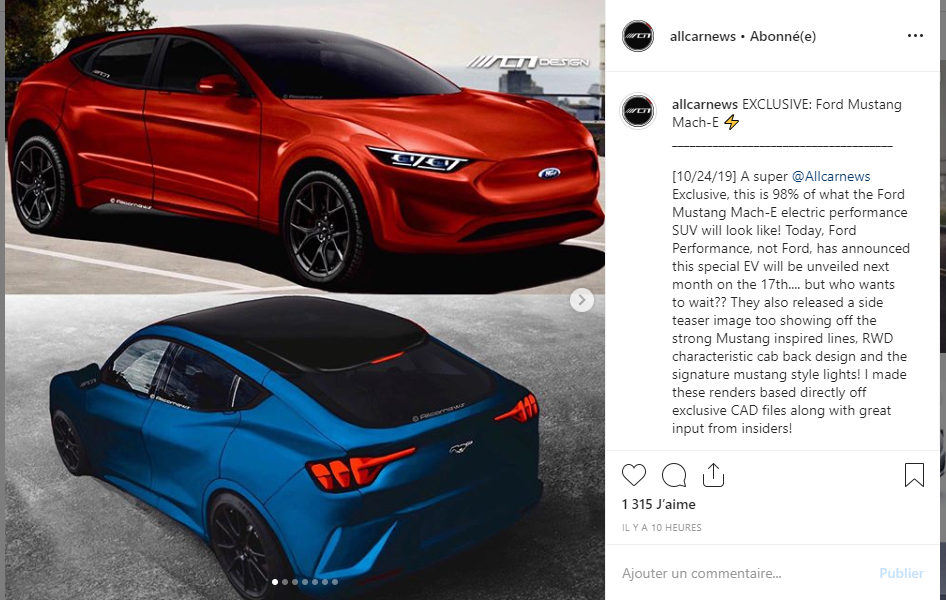 2020 - [Ford] Mustang Mach-E - Page 2 Captur13