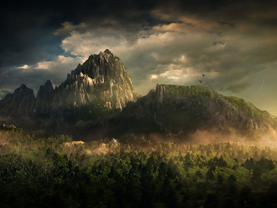 Montagne de Traum Montag10