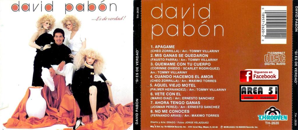 DAVID PABON - ES DE VERDAD (1989) David_11