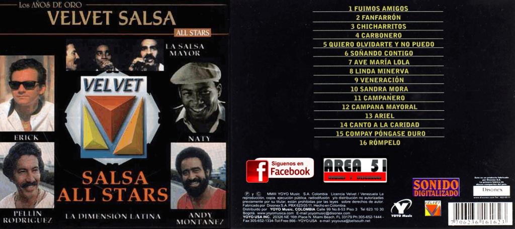 LOS AÑOS DE ORO VELVET SALSA ALL STARS (2003) Velvet10