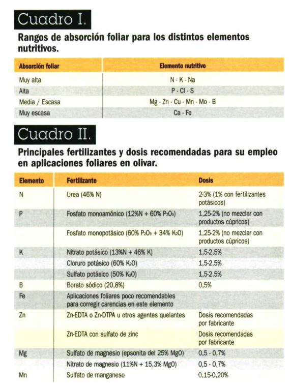 Análisis foliar julio 2019 santiduquer Valle del Guadiato (Córdoba) Dosis_10