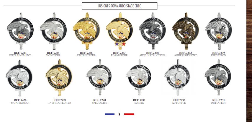 Insignes commandos Comman11