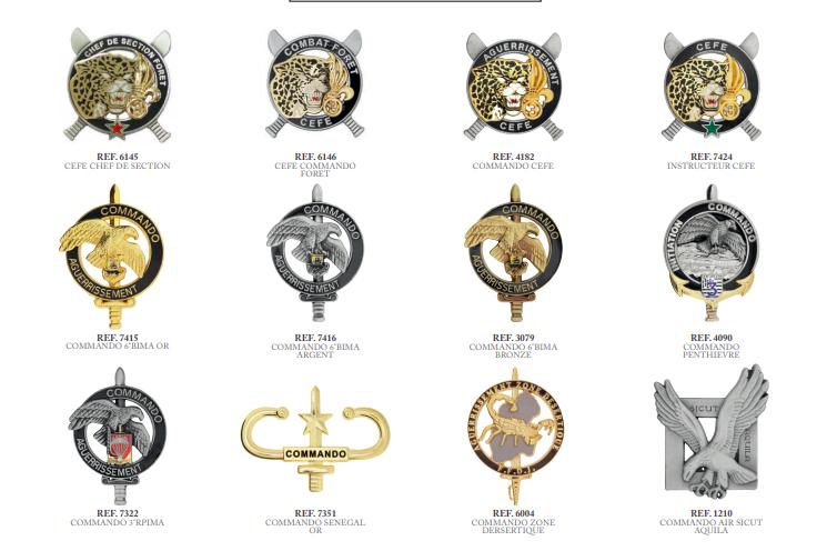 Insignes commandos Iicomm10