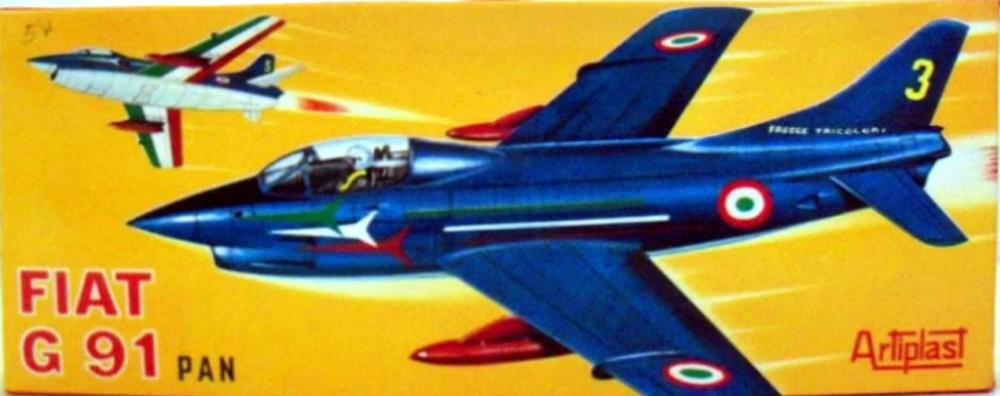 Montage chrono [HELLER BUZC0] FIAT G91 1/50ème Réf 304.250 - Page 3 211