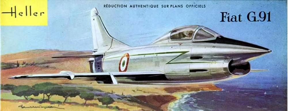 Montage chrono [HELLER BUZC0] FIAT G91 1/50ème Réf 304.250 - Page 3 311