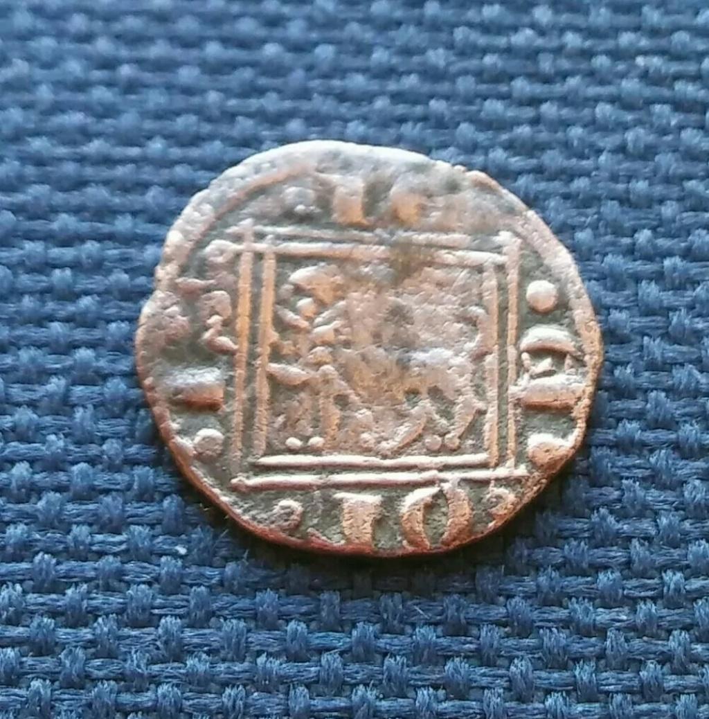 Pugesa o dinero de cobre de Alfonso X. 1281 d. C. Screen10