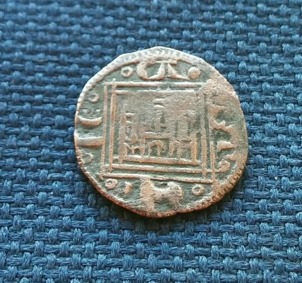 Pugesa o dinero de cobre de Alfonso X. 1281 d. C. Screen11
