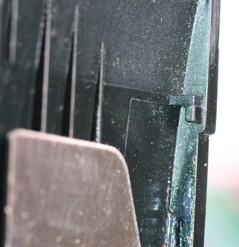 Réparer un cran cassé ? Onglet12