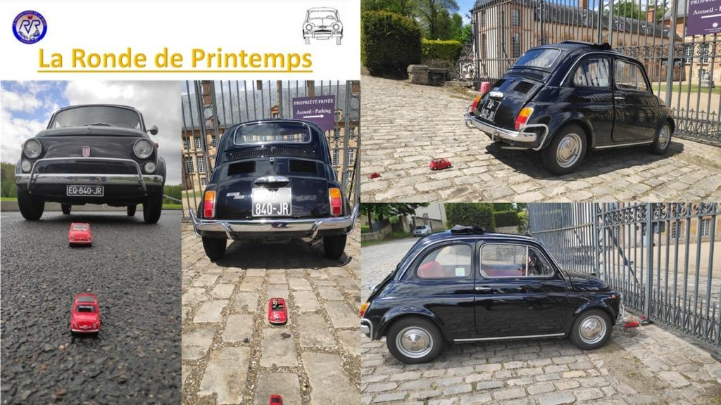 145ème Rendez-Vous de la Reine - Rambouillet - 15/16 mai 2021 Fiat5011