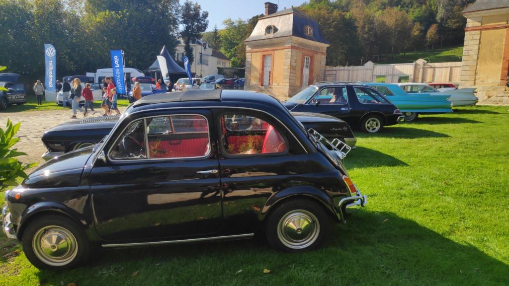 Exposition de nos véhicules possible au Salon Art&Habitat au château de Dampierre Img_2033
