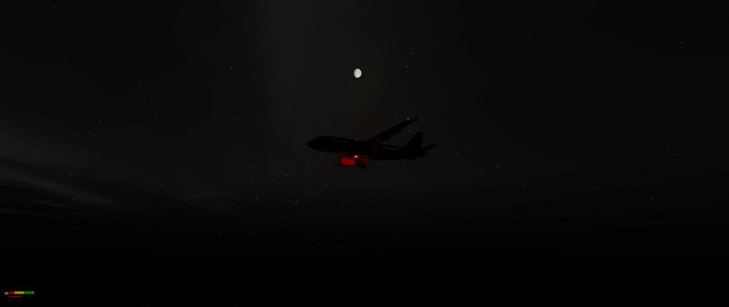 Vol LIRF - LGAV A319_220