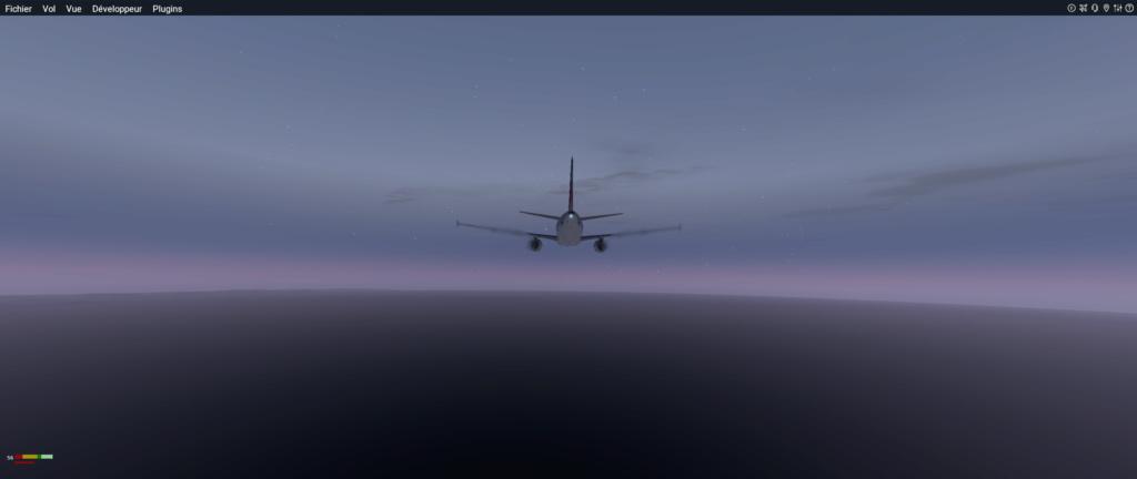 Vol LIRF - LGAV A319_221