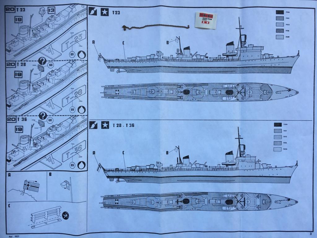 Torpilleur le LORRAIN ex T28 (Kriegsmarine) Réf 81031  5210