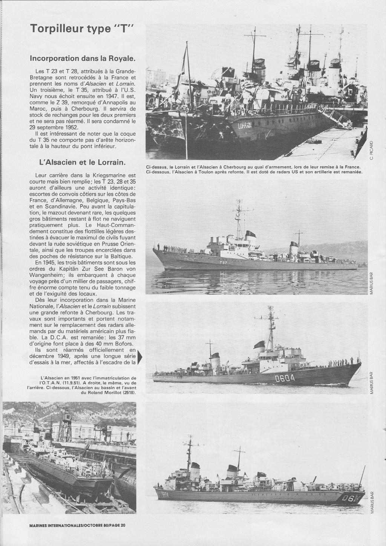 Torpilleur le LORRAIN ex T28 (Kriegsmarine) Réf 81031  Torpil13