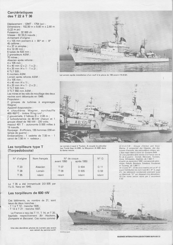 Torpilleur le LORRAIN ex T28 (Kriegsmarine) Réf 81031  Torpil15